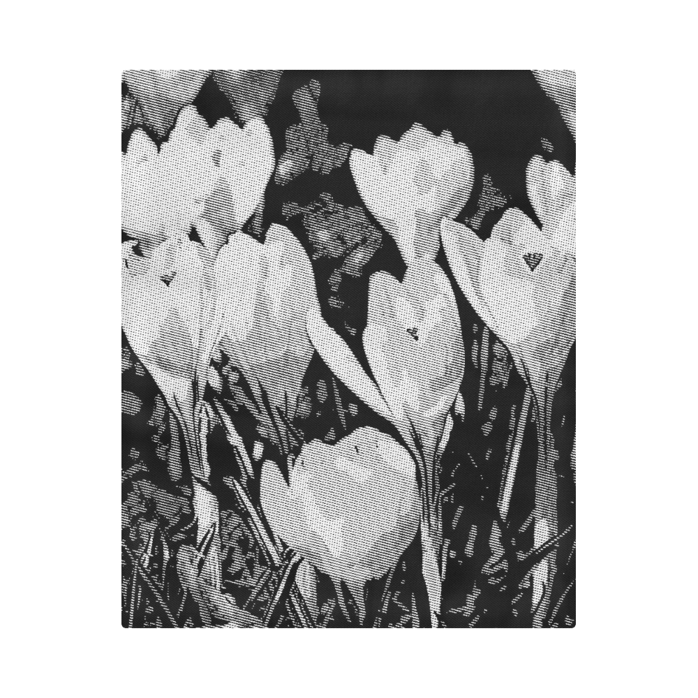 "Floral Art Studio 29216 Duvet Cover 86""x70"" ( All-over-print)"