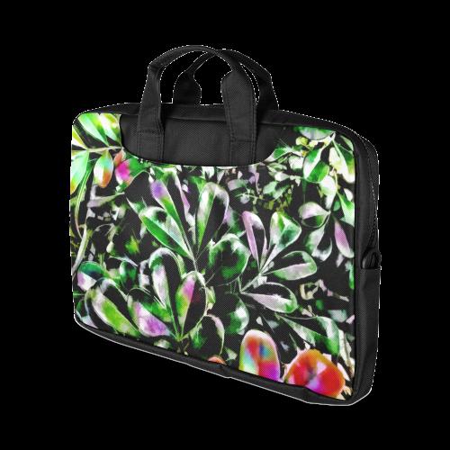 "Foliage-6 Black Macbook Air 13""(Twin sides)"