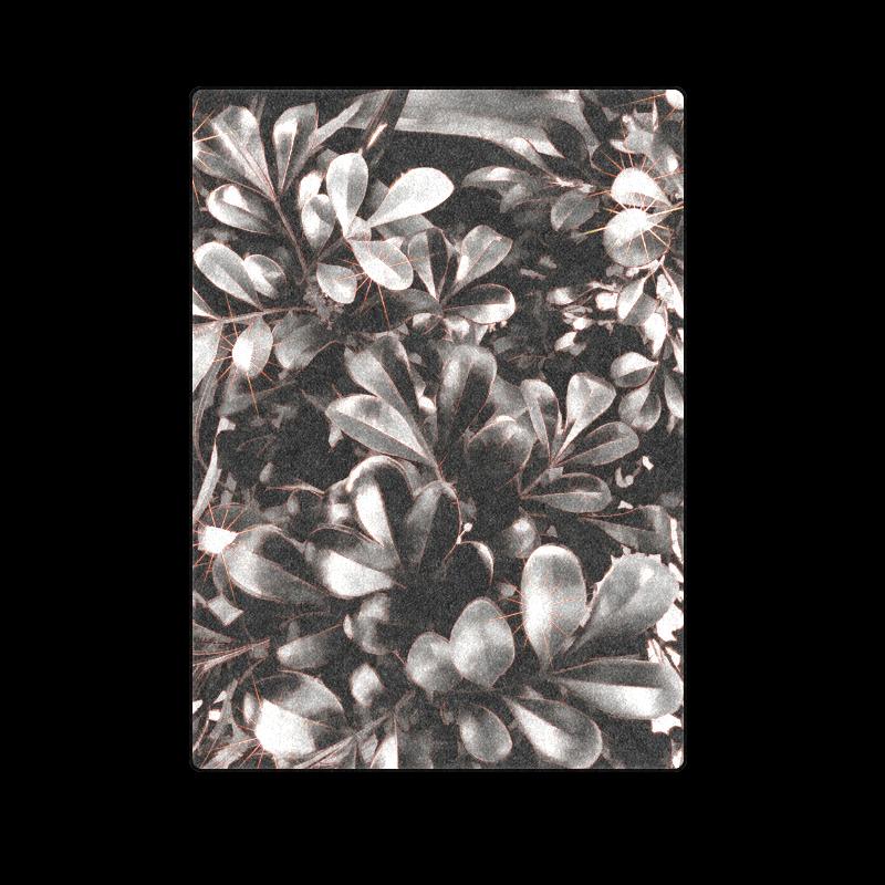 "Foliage #1 Red Edge - Jera Nour Blanket 58""x80"""