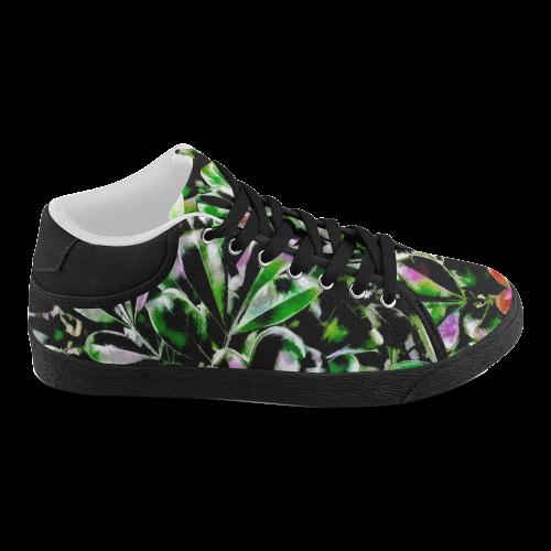 Foliage #6 - Jera Nour Women's Chukka Canvas Shoes (Model 003)