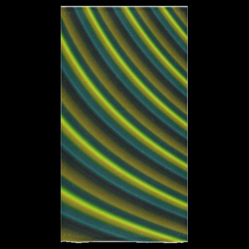 "Lime Green  Gradient Stripes Bath Towel 30""x56"""