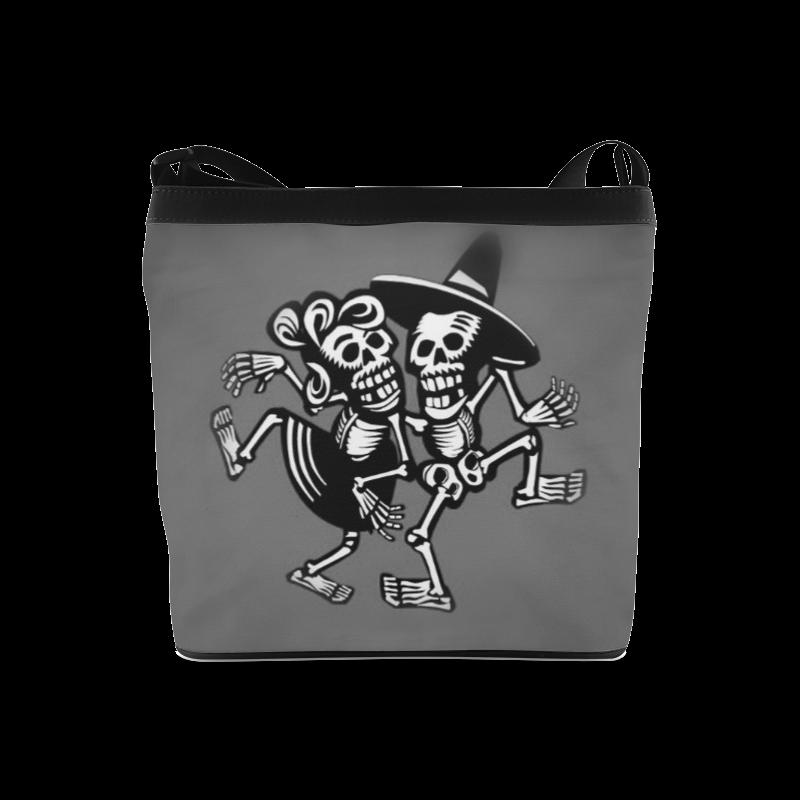 lets dance- Skulls Crossbody Bags (Model 1613)