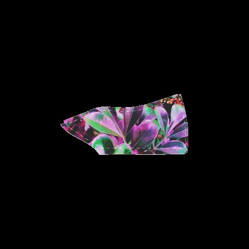 Foliage #3 - Jera Nour Women's Slip-on Canvas Shoes (Model 019)