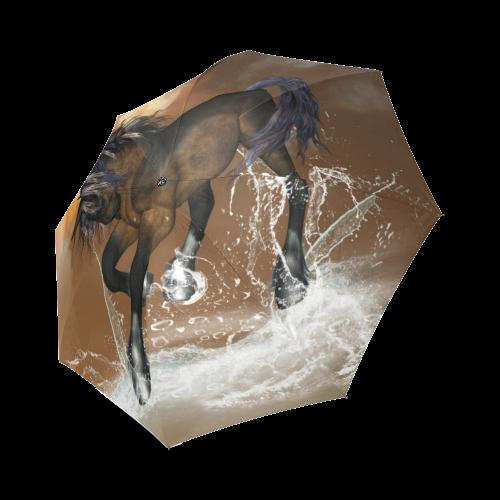Awsome horse Foldable Umbrella (Model U01)