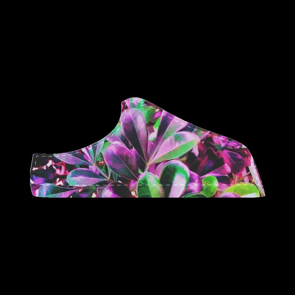 Foliage #3 - Jera Nour Women's Chukka Canvas Shoes (Model 003)