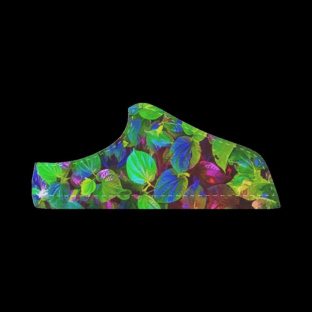 Foliage #7 - Jera Nour Women's Chukka Canvas Shoes (Model 003)