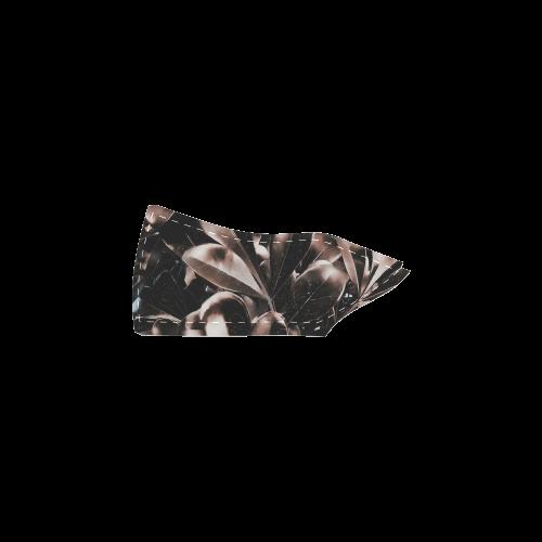 Foliage #5 - Jera Nour Women's Slip-on Canvas Shoes (Model 019)