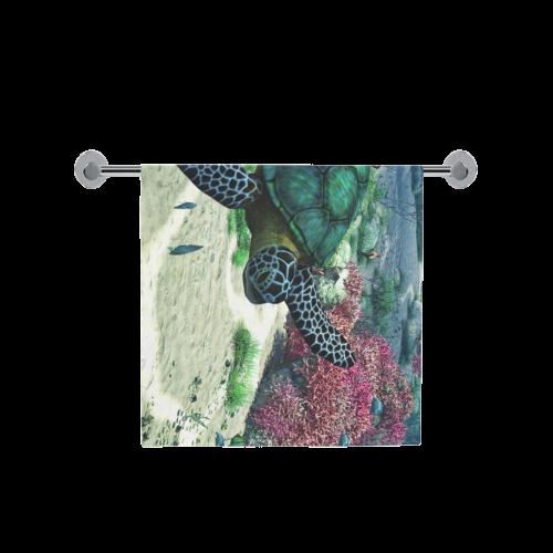 "Sea Turtle Bath Towel 30""x56"""
