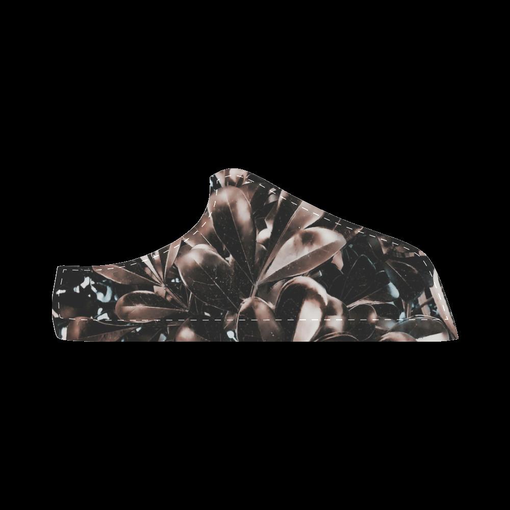 Foliage #5 - Jera Nour Women's Chukka Canvas Shoes (Model 003)