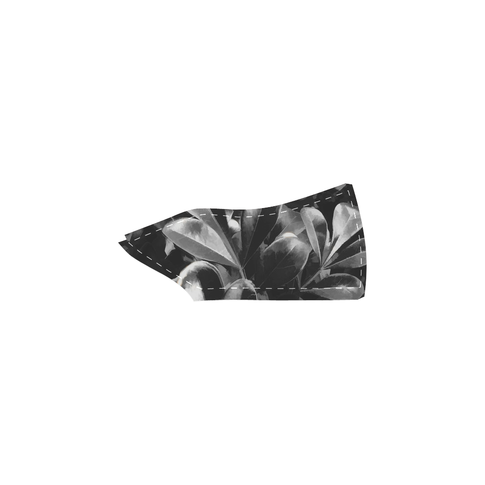Foliage #1 - Jera Nour Women's Slip-on Canvas Shoes (Model 019)