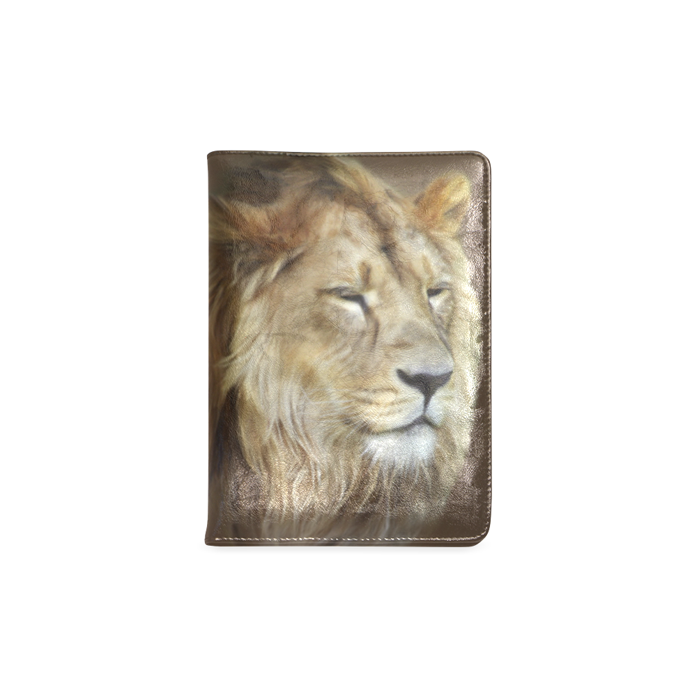 A magnificent painting Lion portrait Custom NoteBook A5