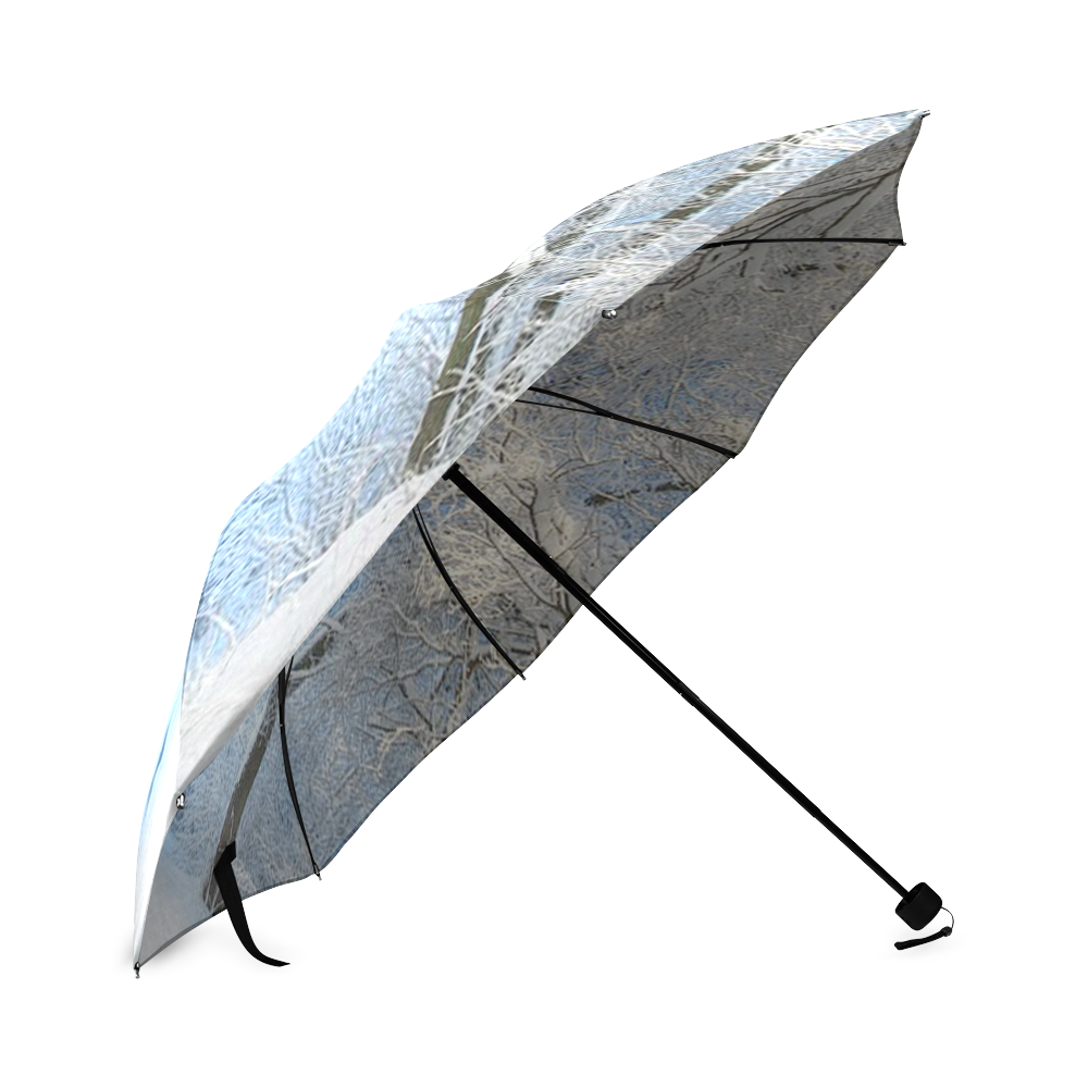 another winter wonderland Foldable Umbrella (Model U01)