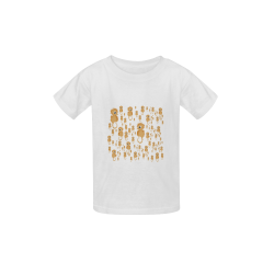 Sea Horses Kid's  Classic T-shirt (Model T22)