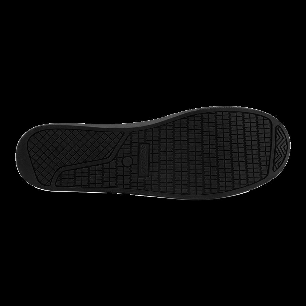 Fire Flames Men's Canvas Shoes (Model 016)