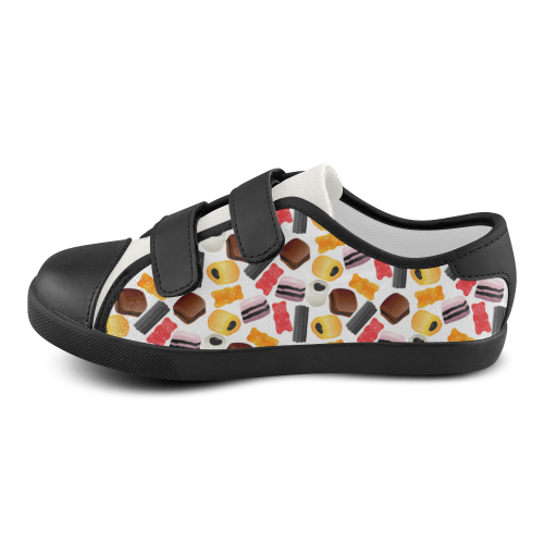 Yummy Velcro Canvas Kid's Shoes (Model 008)