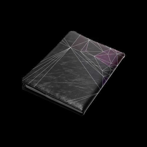 Polygons purple and black Custom NoteBook B5
