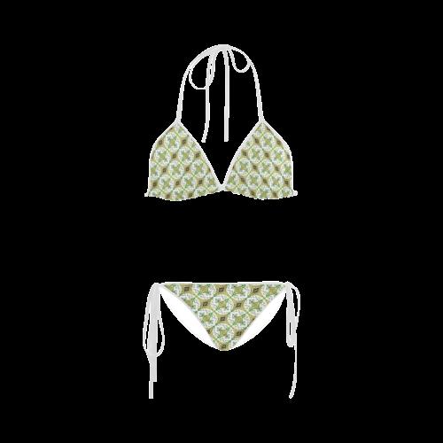 Mandy Green - bubbles light Custom Bikini Swimsuit