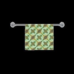 "Mandy Green bubbles dark Custom Towel 16""x28"""