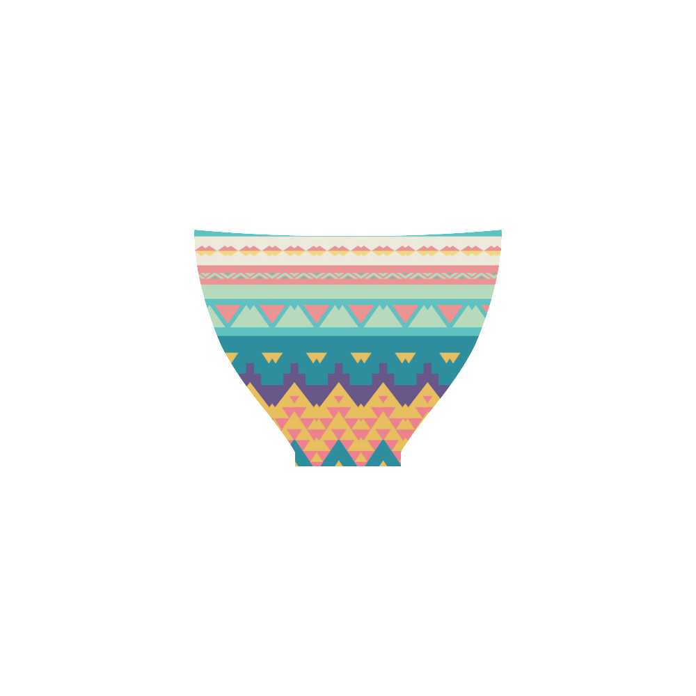 Pastel tribal design Custom Bikini Swimsuit