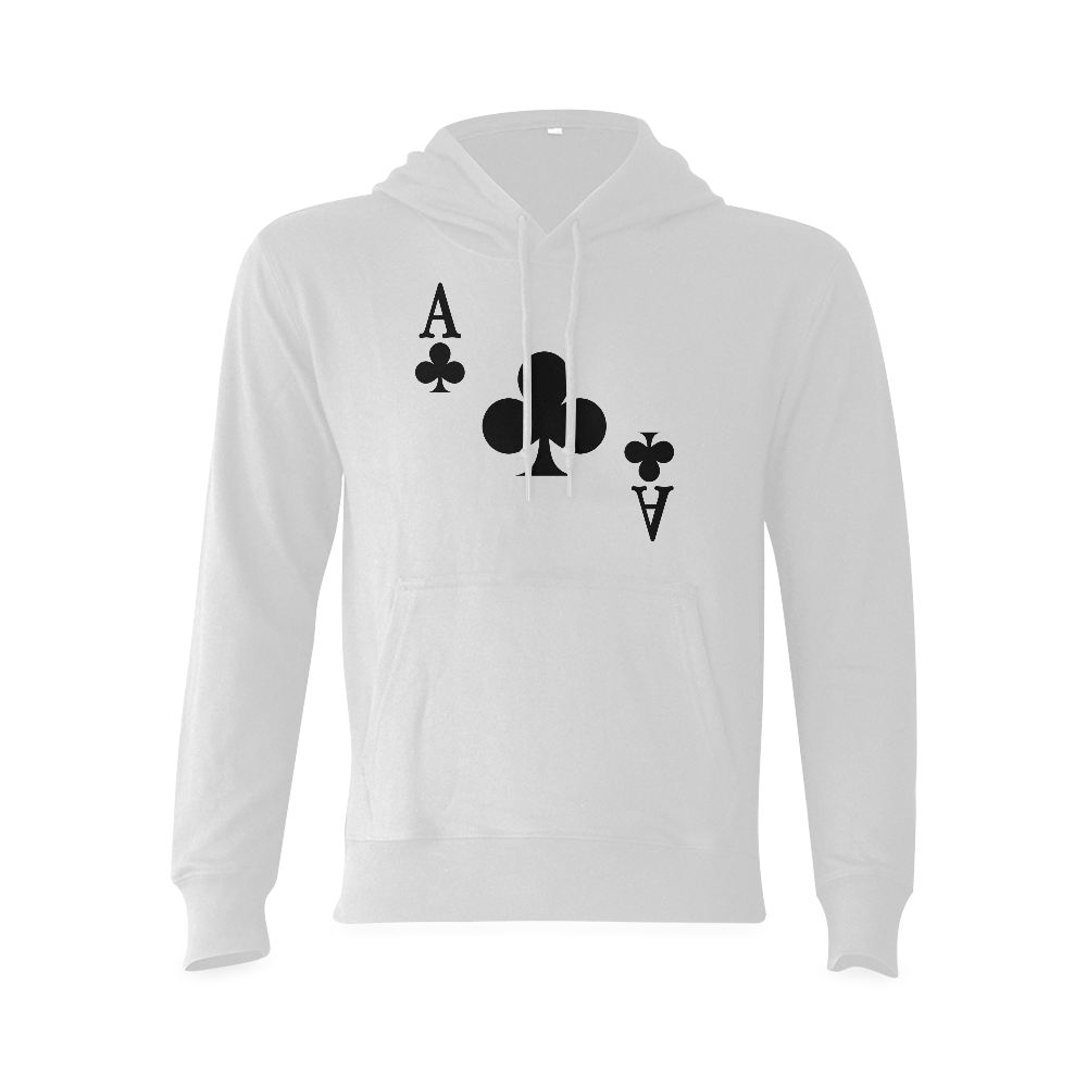 Ace of Clubs Gildan Hoodie Sweatshirt (Model H03)