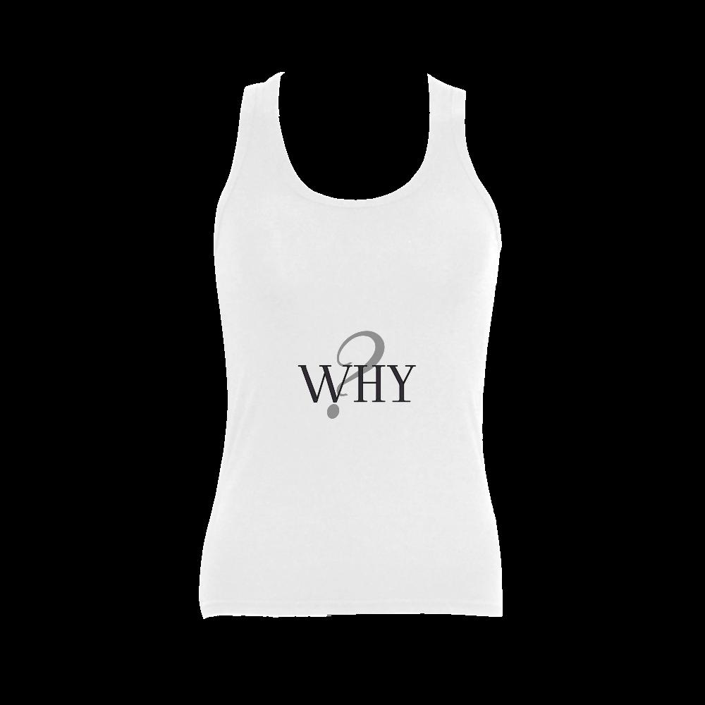 Why? Women's Shoulder-Free Tank Top (Model T35)