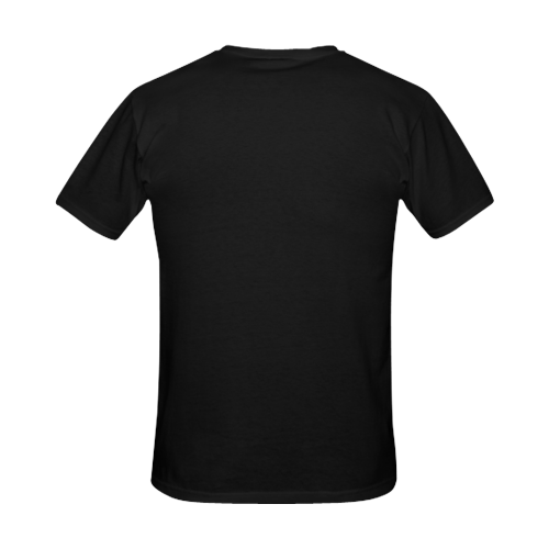 Why? Black | Men's Slim Fit T-shirt (Model T13)