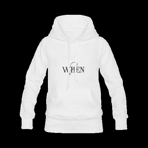 When? Women's Classic Hoodies (Model H07)