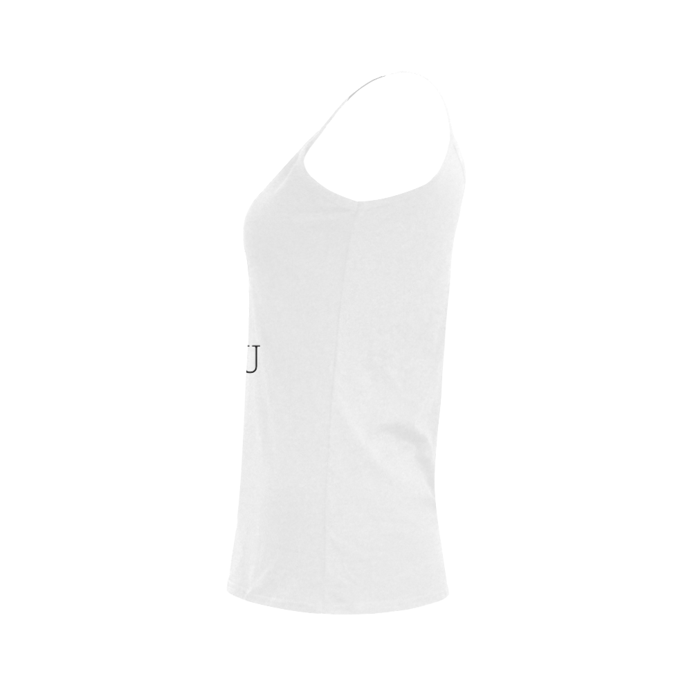 What are you doing here? Women's Spaghetti Top (USA Size) (Model T34)