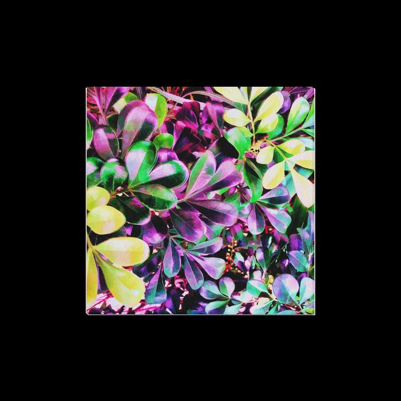 "Foliage-3 Canvas Print 16""x16"""