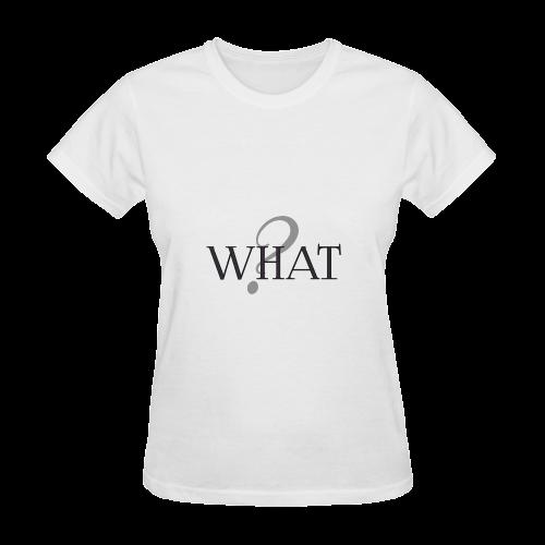 What? Sunny Women's T-shirt (Model T05)