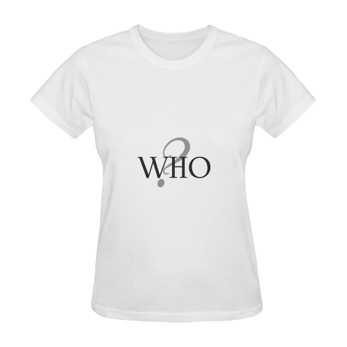 Who? Sunny Women's T-shirt (Model T05)