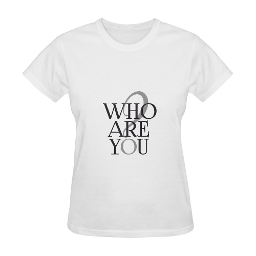 Who are you? Sunny Women's T-shirt (Model T05)