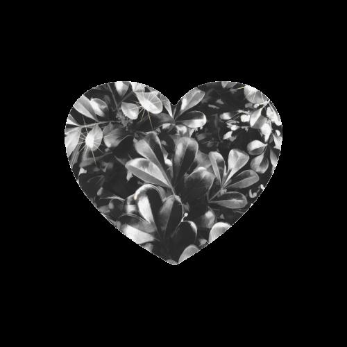 Foliage-1 Heart-shaped Mousepad
