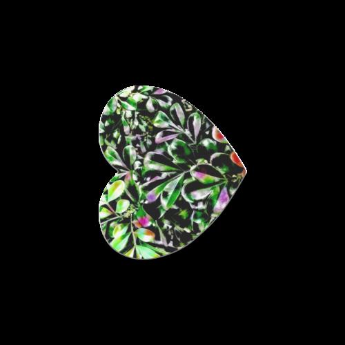 Foliage-6 Heart Coaster