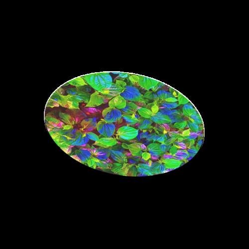 Foliage-7 Round Mousepad