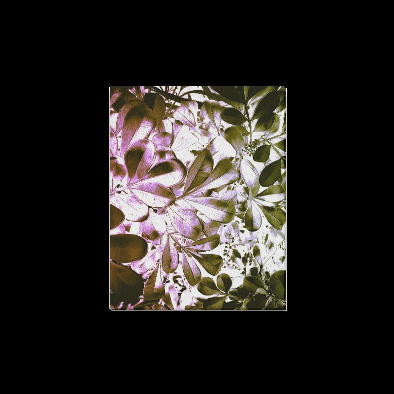 "Foliage-4 Canvas Print 14""x11"""