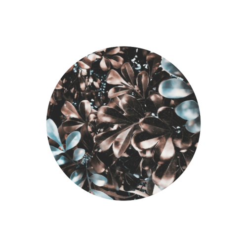 Foliage-5 Round Mousepad