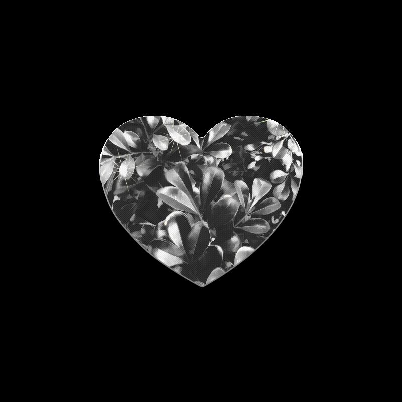 Foliage-1 Heart Coaster