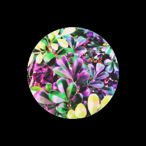 Foliage-3 Round Mousepad