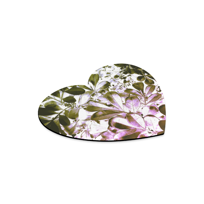 Foliage #4 - Jera Nour Heart-shaped Mousepad