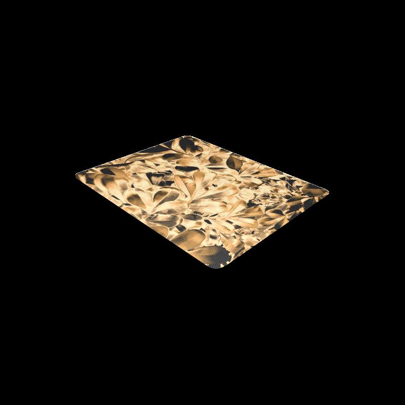 Foliage #2 Gold - Jera Nour Rectangle Mousepad