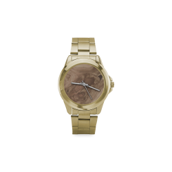 fantastic wood grain soft Custom Gilt Watch(Model 101)
