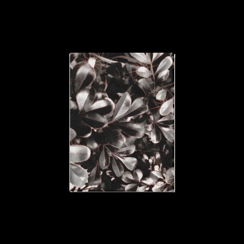 "Foliage #1 Red Edge - Jera Nour Canvas Print 16""x12"""