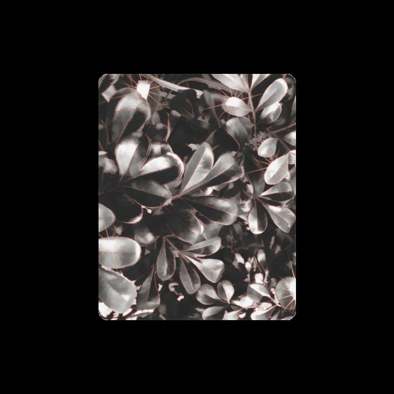 Foliage-1 Red Edge Rectangle Mousepad