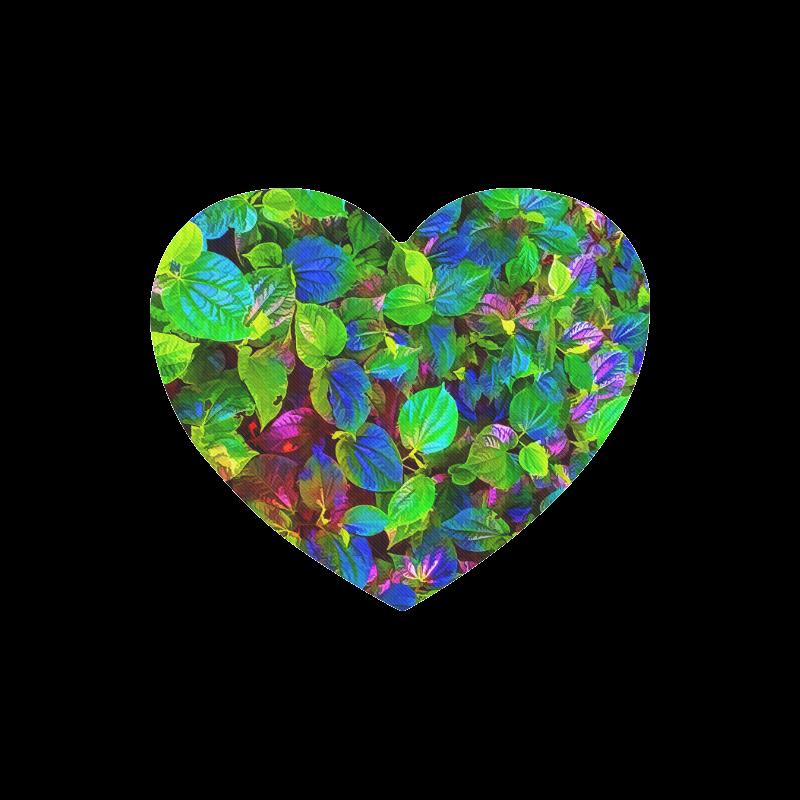 Foliage-7 Heart-shaped Mousepad