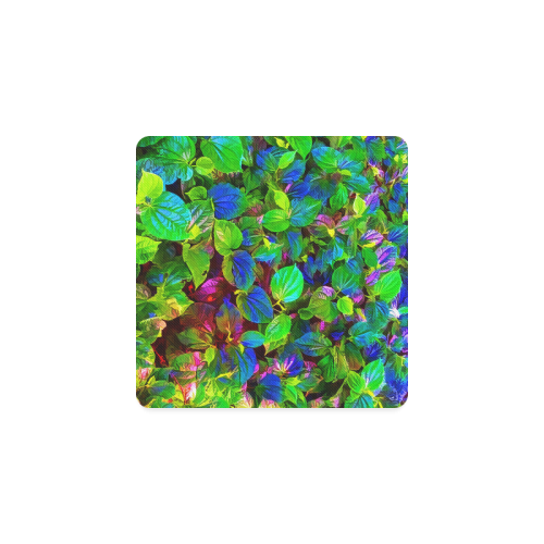 Foliage-7 Square Coaster