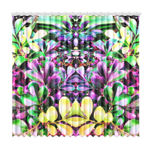 """Foliage-3 Window Curtain 50""""x96""""(Two Piece)"""