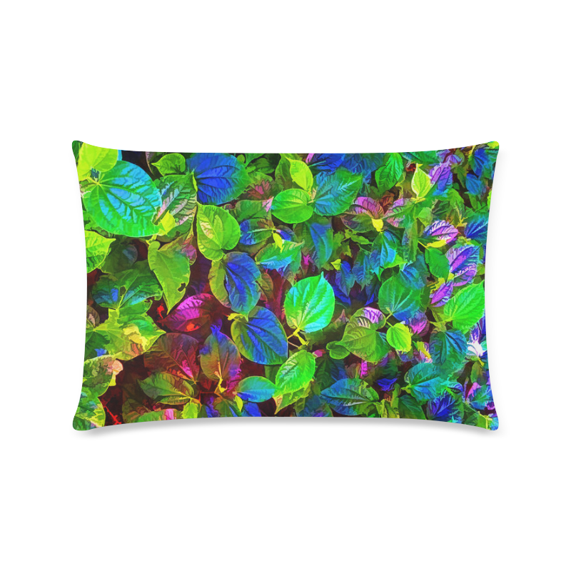 "Foliage-7 Custom Zippered Pillow Case 16""x24""(Twin Sides)"