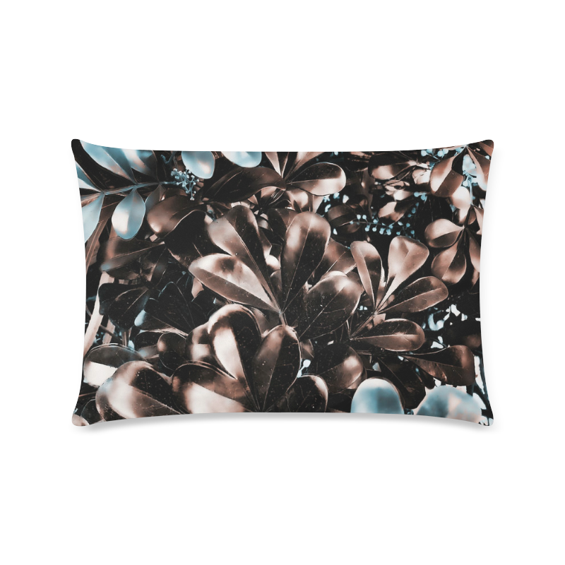 "Foliage-5 Custom Zippered Pillow Case 16""x24""(Twin Sides)"