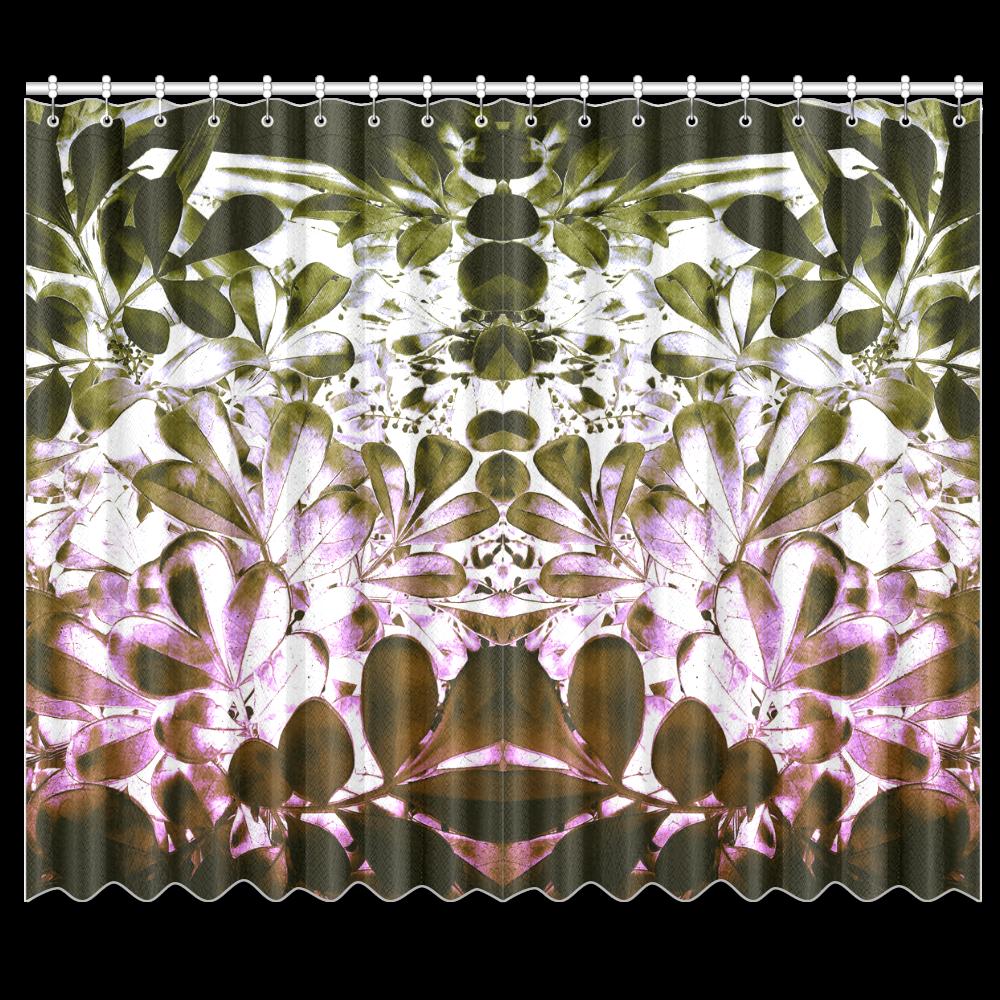 """Foliage #4 - Jera Nour Window Curtain 50""""x84""""(Two Piece)"""